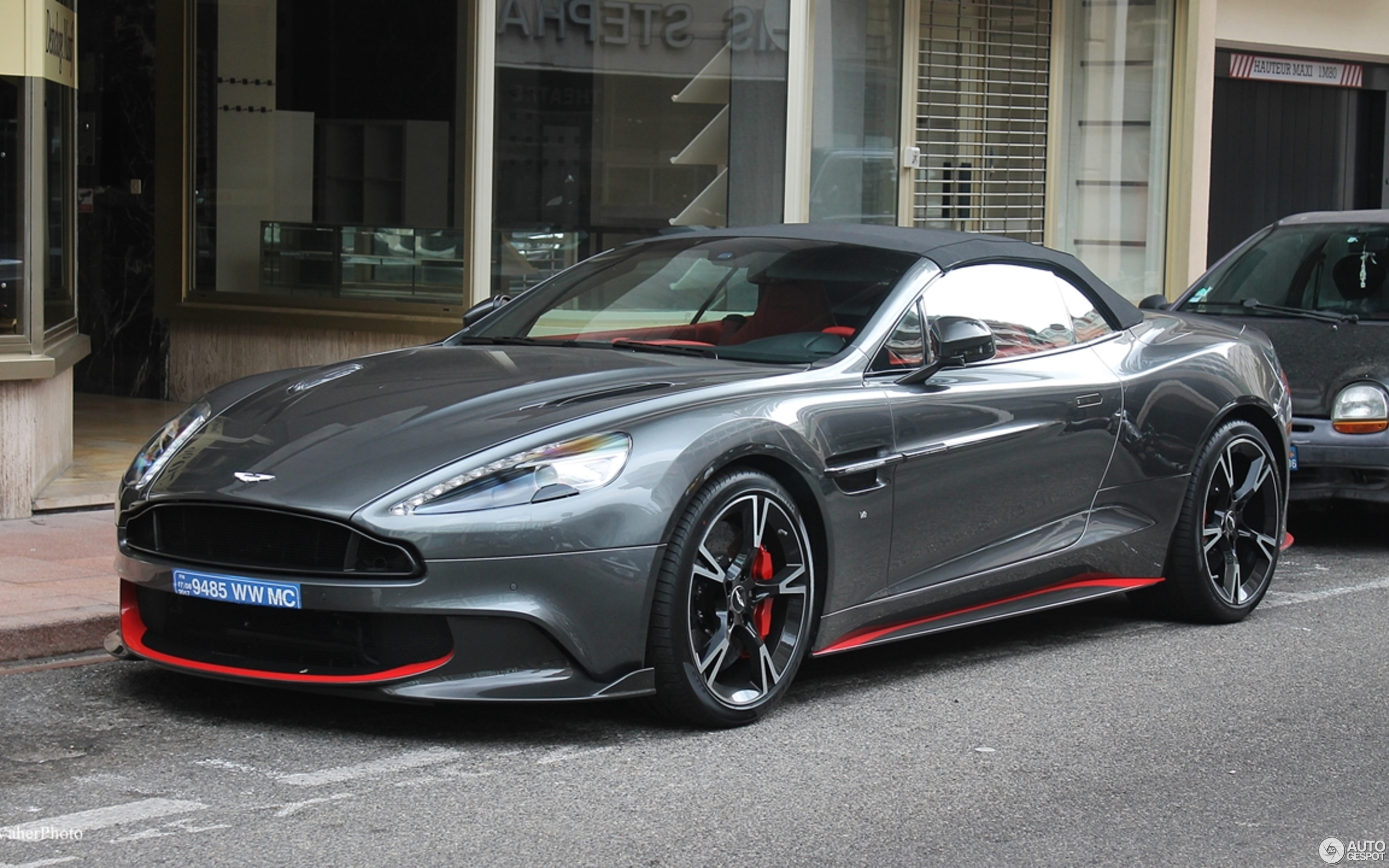 aston martin vanquish s volante 2017 1 august 2017 autogespot. Black Bedroom Furniture Sets. Home Design Ideas