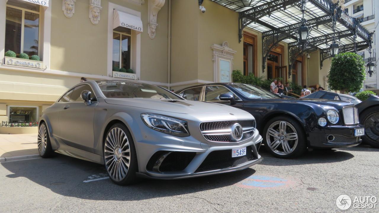 Mercedes benz mansory s 63 amg coup platinum edition 2 for Platinum mercedes benz