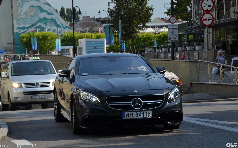 Mercedes Benz S 63 AMG Coupé C217 2 August 2017 Autogespot
