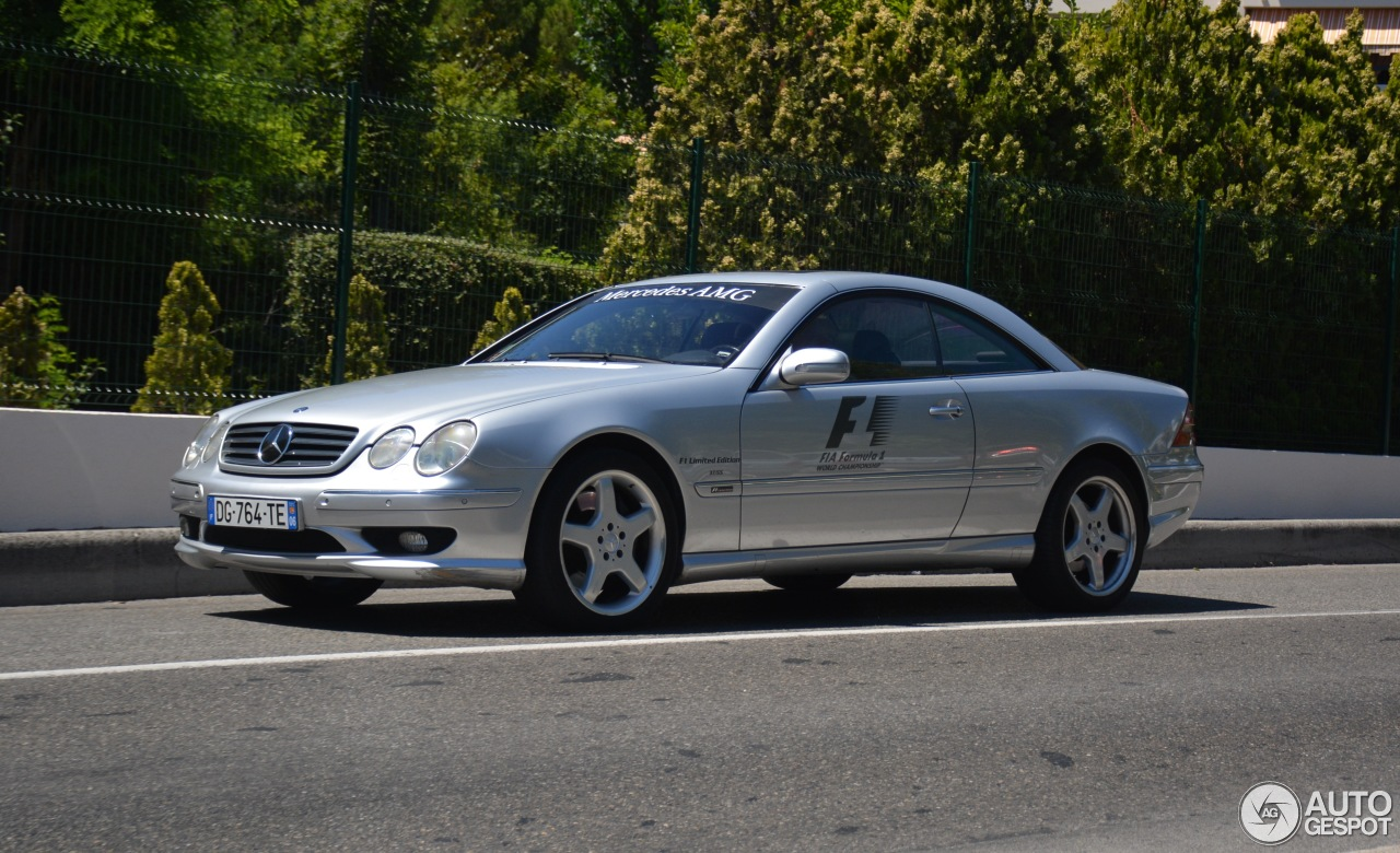 Mercedes benz cl 55 amg f1 limited edition 3 august 2017 for Mercedes benz limited edition