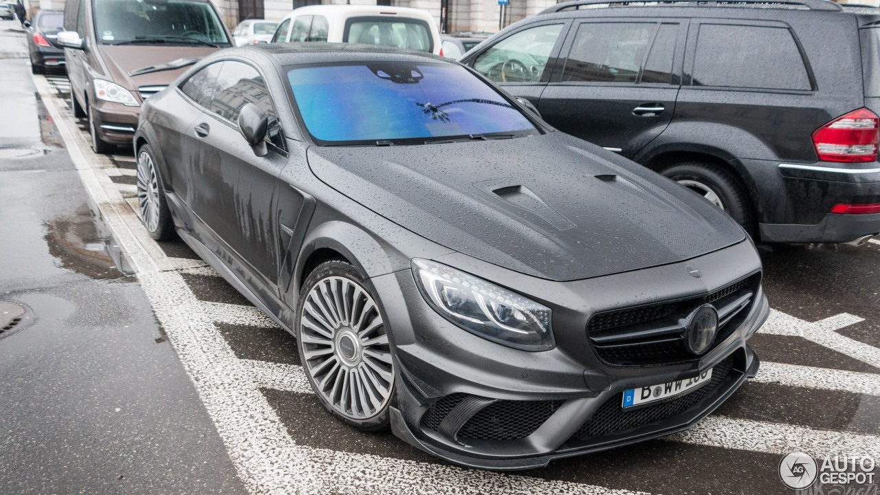 Mercedes benz mansory s 63 amg coupe black edition 3 for Black mercedes benz 2017