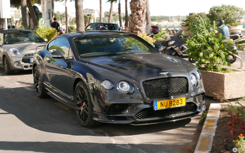 Bentley Continental Supersports Coupé 2018 - 3 August 2017 - Autogespot
