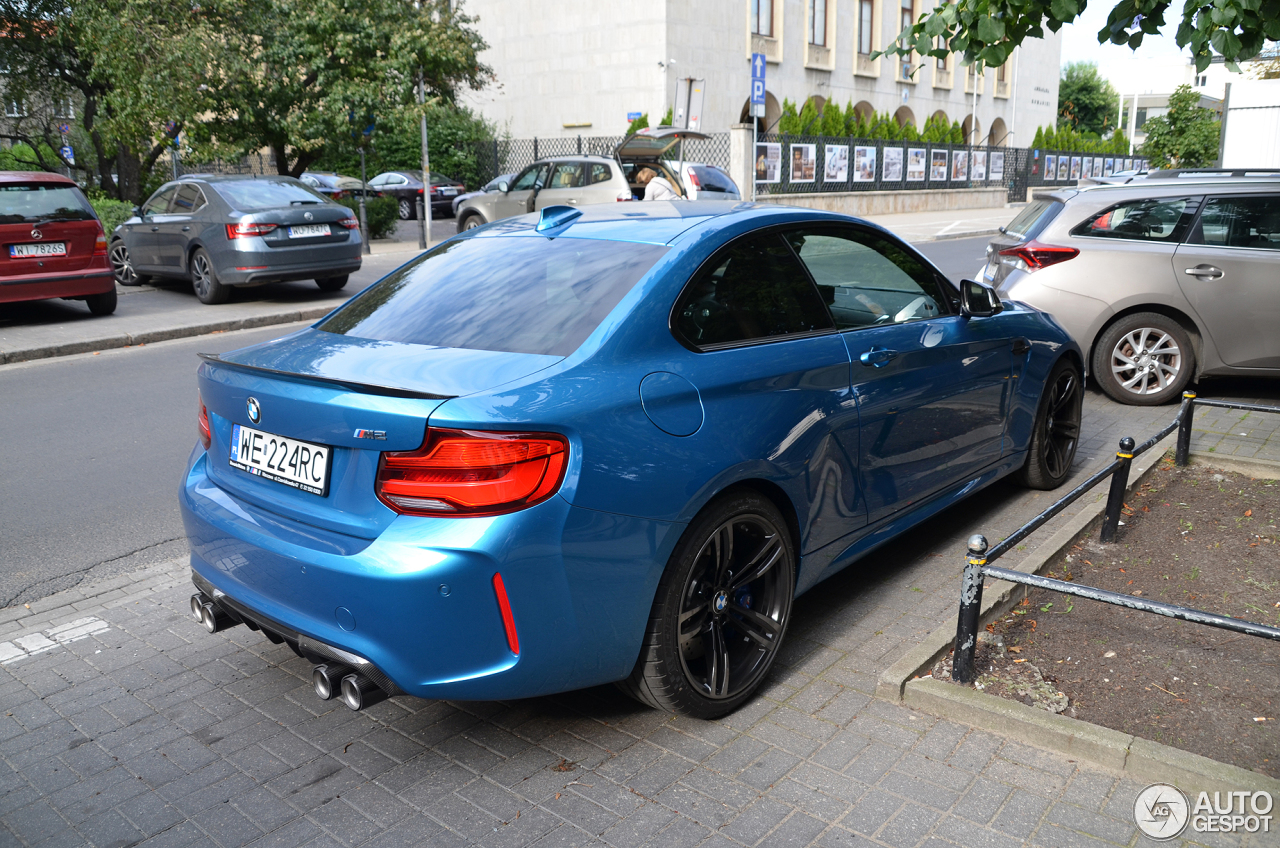 bmw m2 coup f87 2018 5 august 2017 autogespot. Black Bedroom Furniture Sets. Home Design Ideas