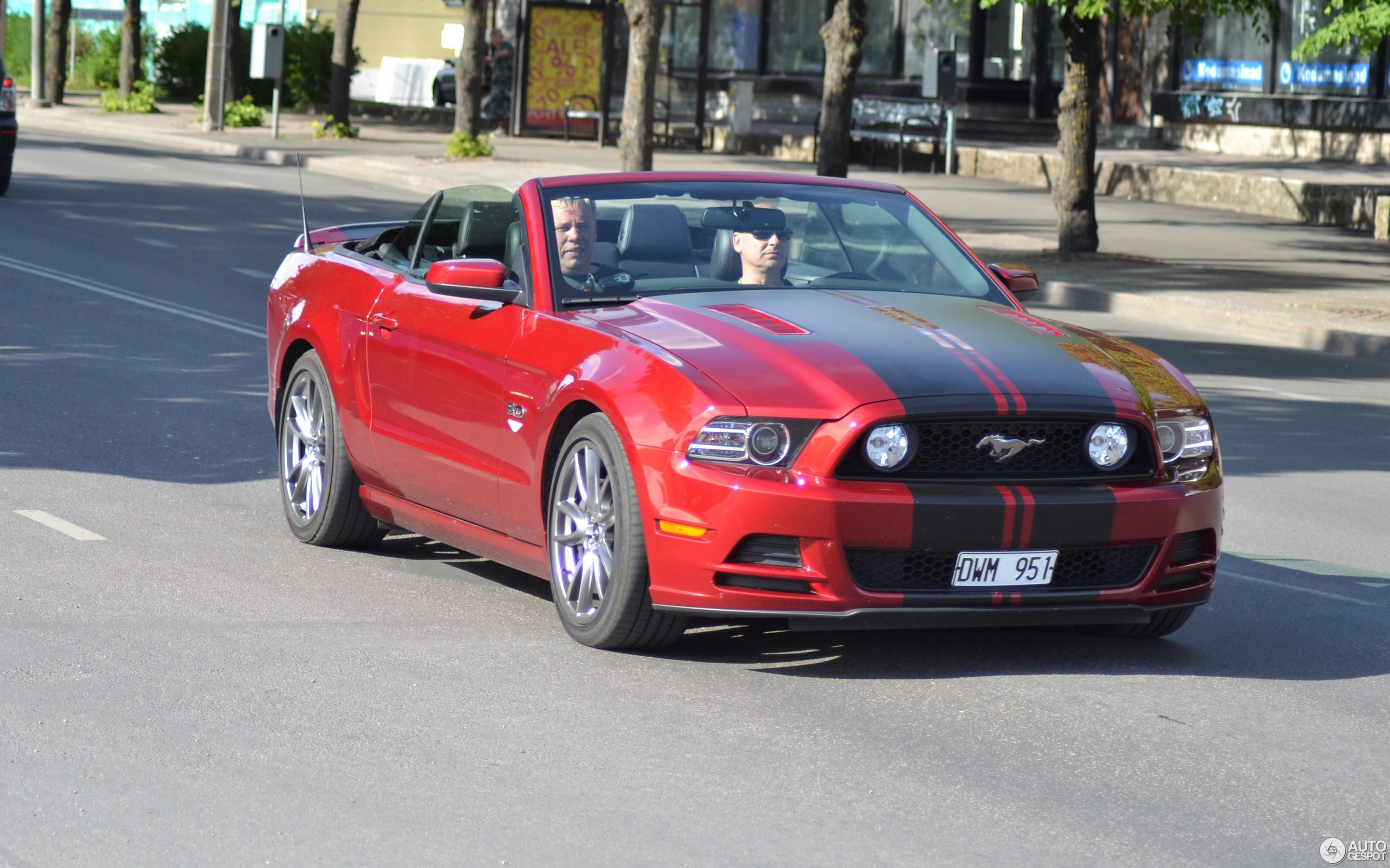 Ford Mustang Gt Convertible 2013 5 August 2017 Autogespot