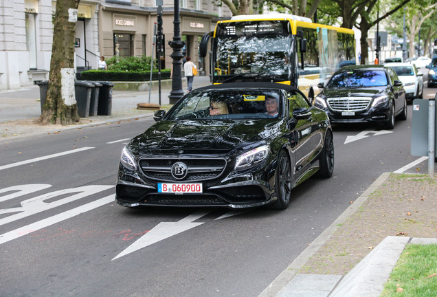 Mercedes-AMG Brabus 850 6.0 Biturbo Convertible A217
