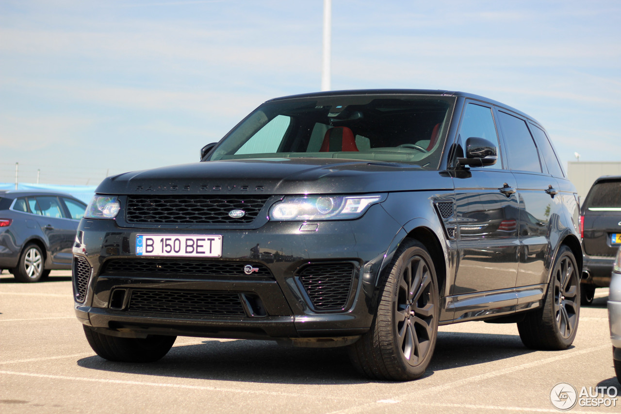 land rover range rover sport svr 7 august 2017 autogespot. Black Bedroom Furniture Sets. Home Design Ideas
