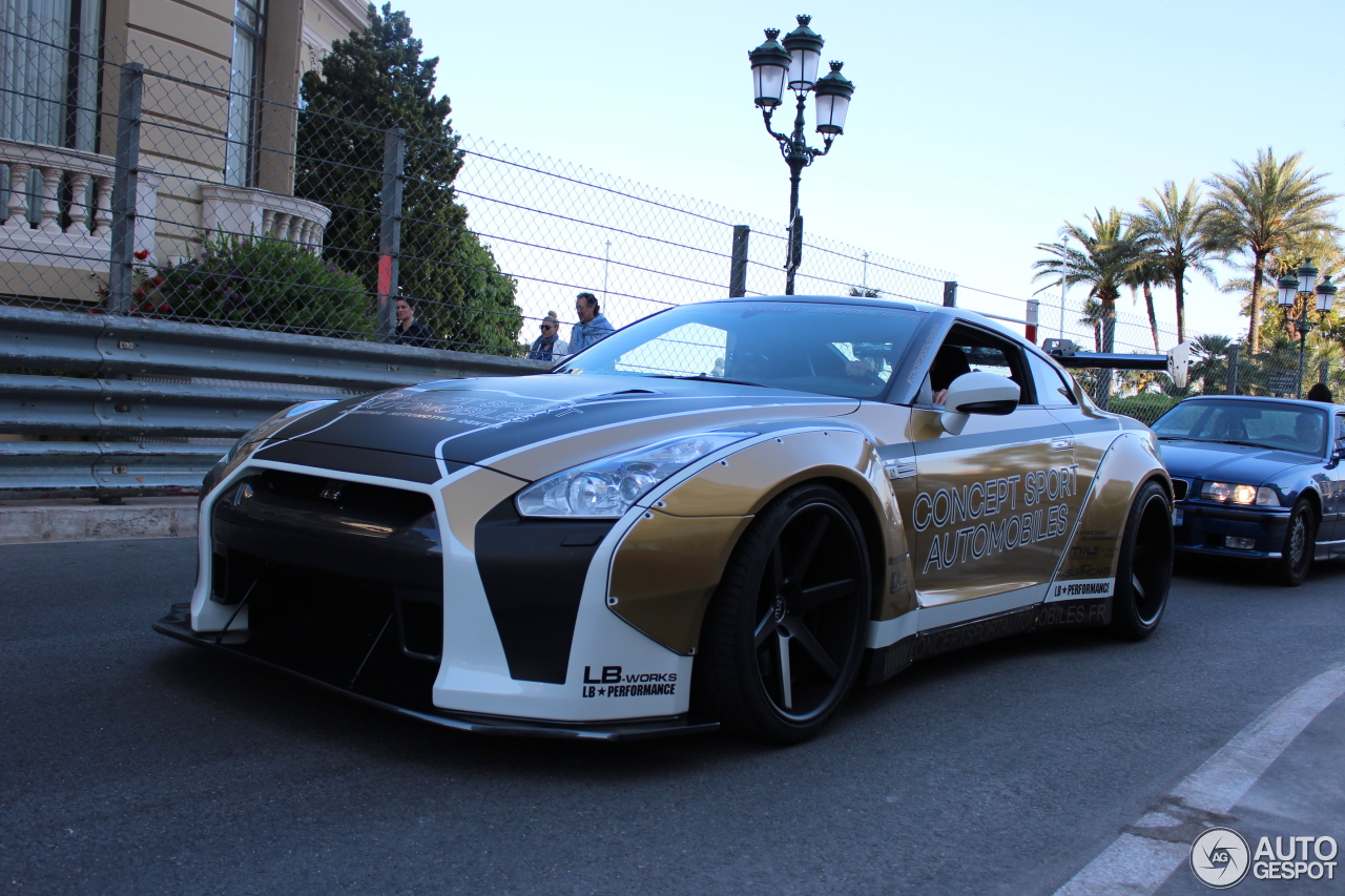 nissan gt r liberty walk widebody 7 august 2017 autogespot. Black Bedroom Furniture Sets. Home Design Ideas