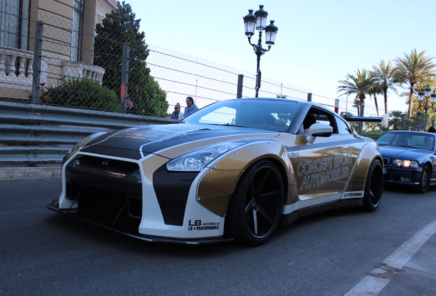 Nissan GT-R 2011 Liberty Walk Widebody