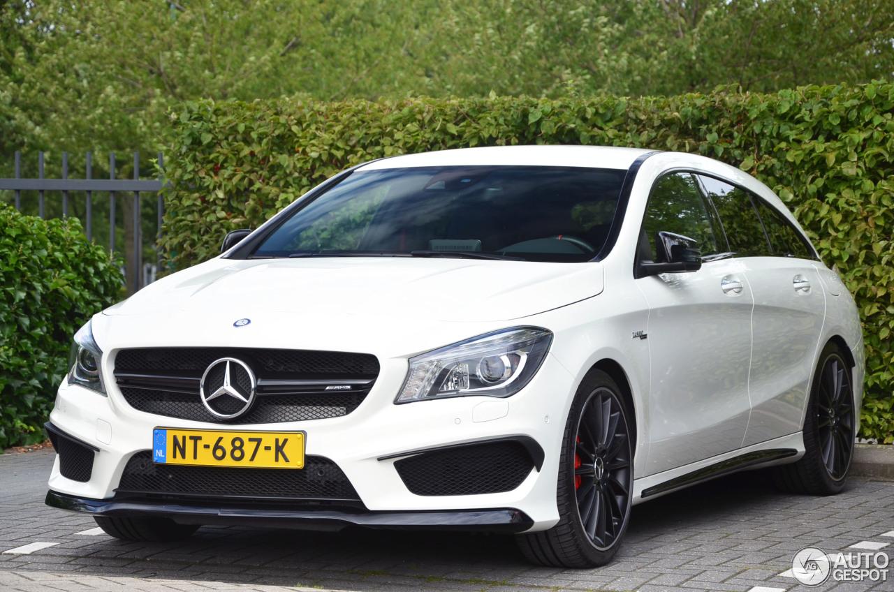 Mercedes benz cla 45 amg shooting brake 8 august 2017 for 08 mercedes benz