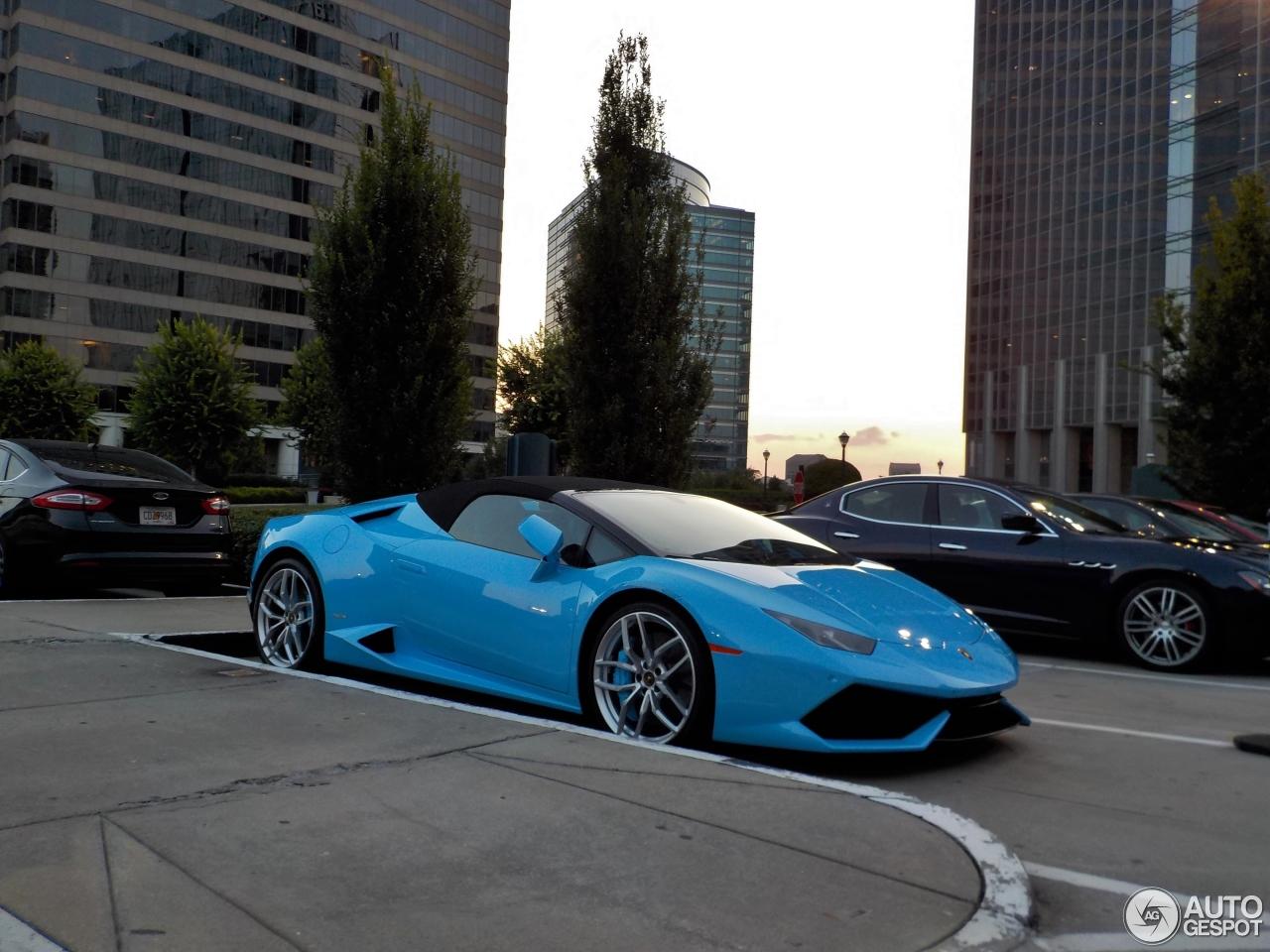 1 I Lamborghini Huracán LP610 4 Spyder 1
