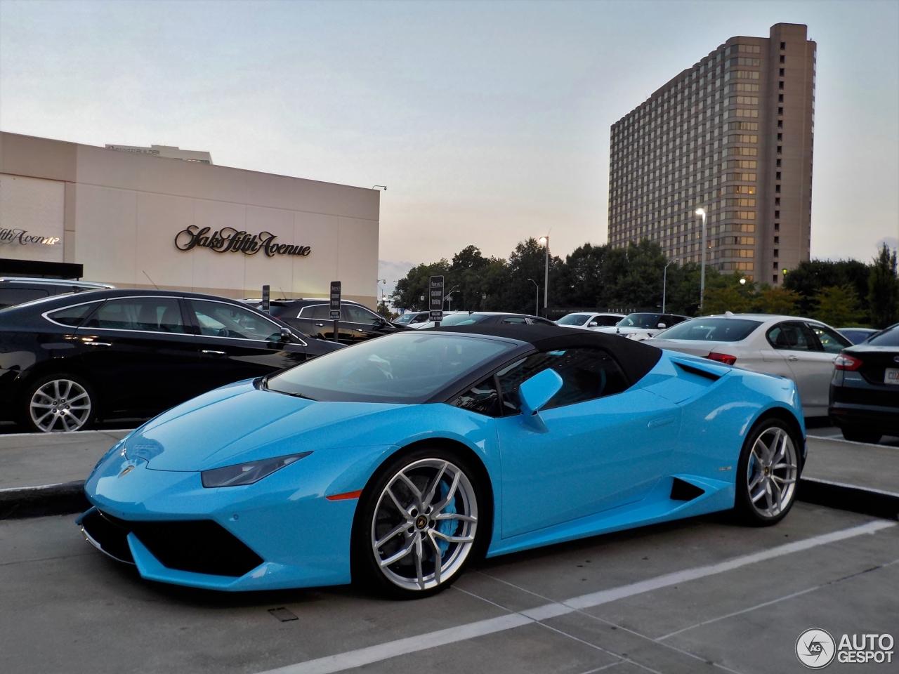 2 I Lamborghini Huracán LP610 4 Spyder 2