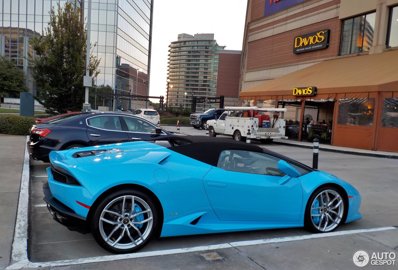 4 I Lamborghini Huracán LP610 4 Spyder 4