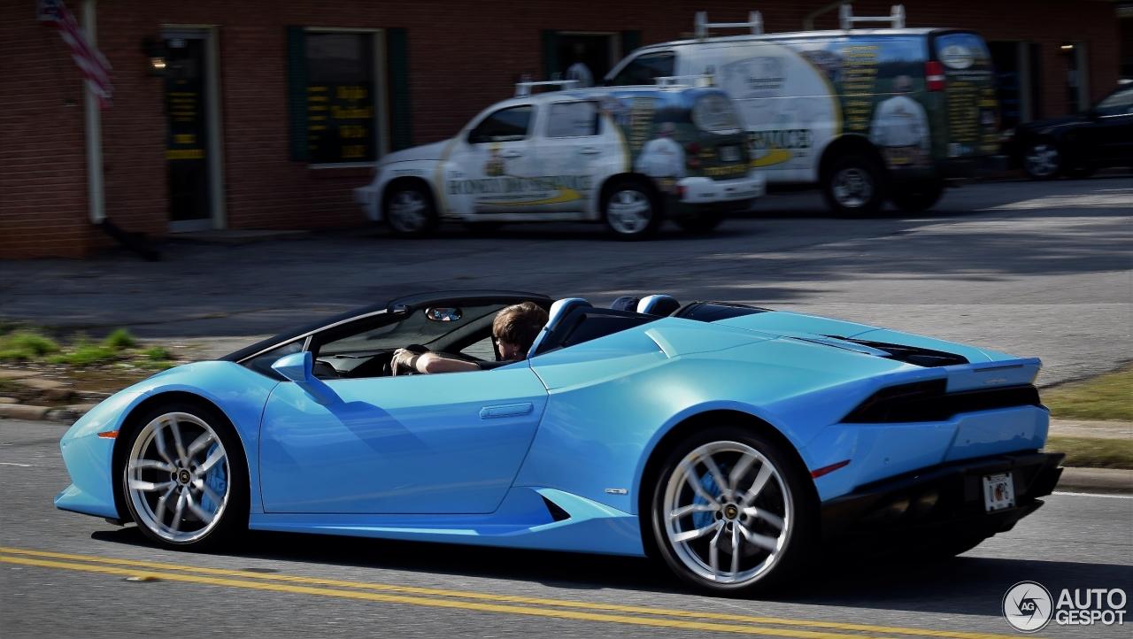 8 I Lamborghini Huracán LP610 4 Spyder 8