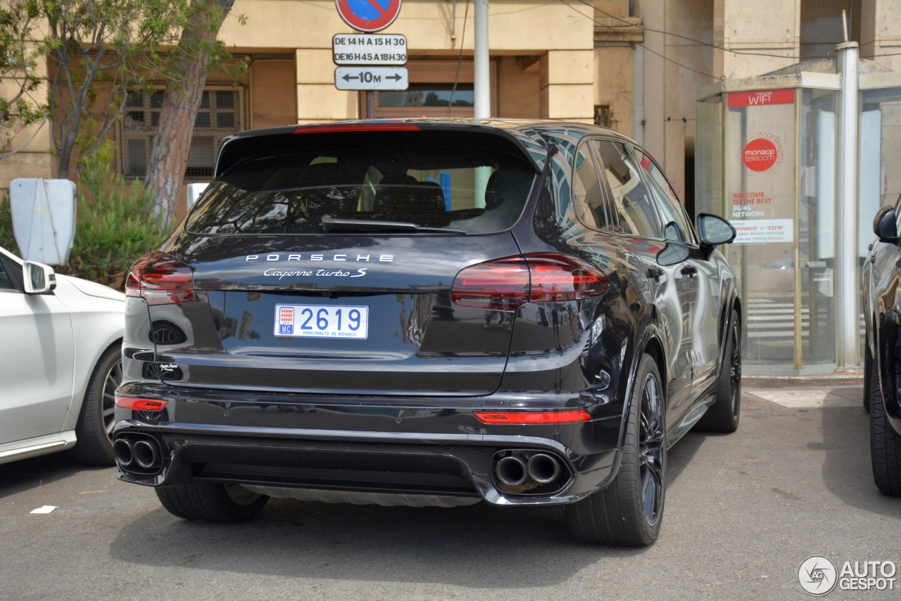 porsche 958 cayenne turbo s mkii 9 august 2017 autogespot. Black Bedroom Furniture Sets. Home Design Ideas