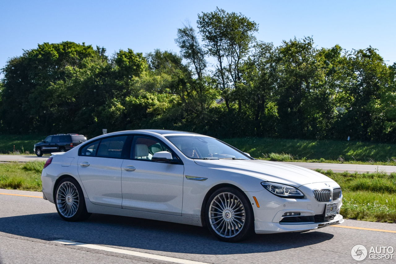 2 I Alpina B6 BiTurbo Gran Coupe 2015