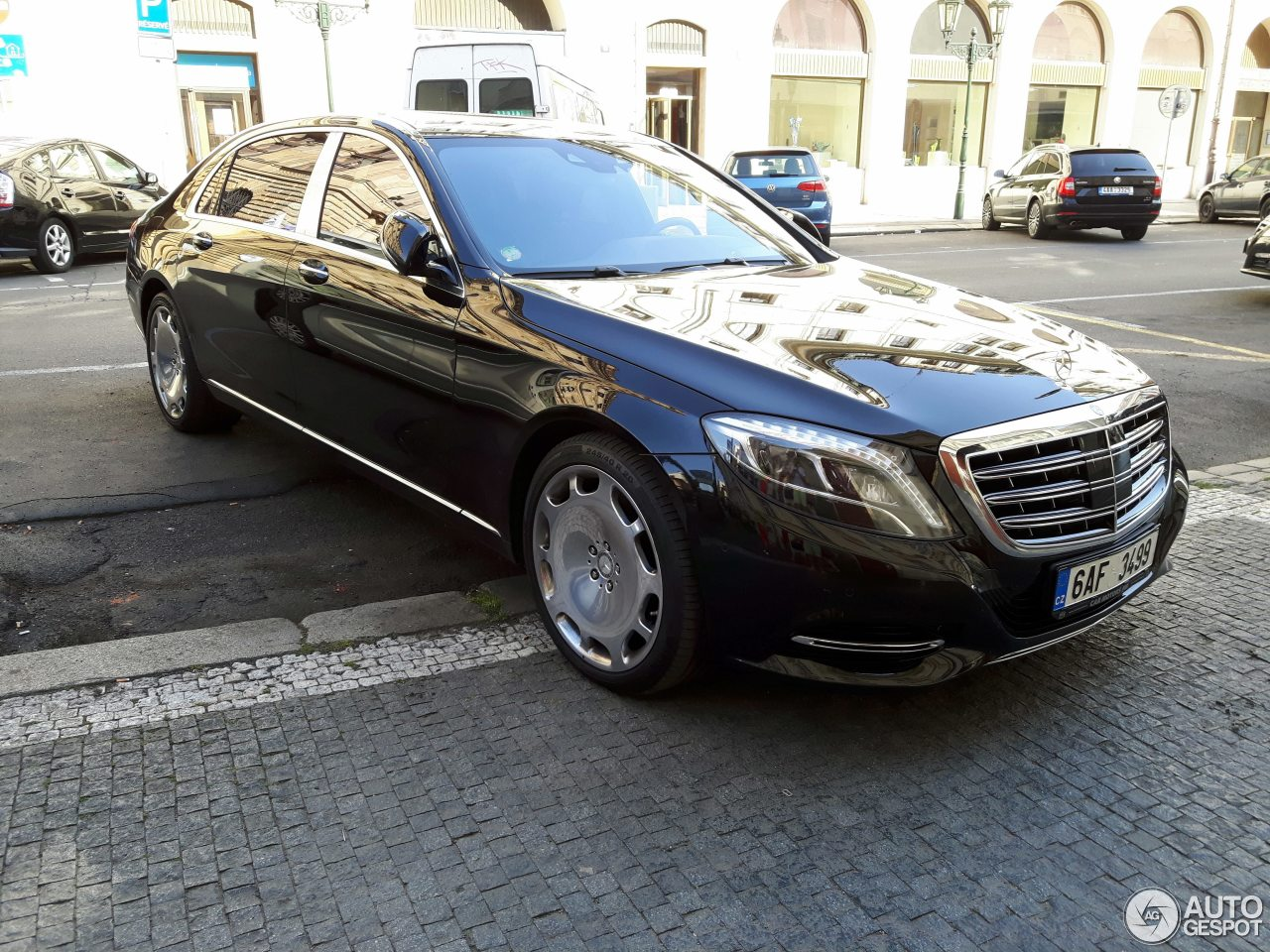 Mercedes maybach s600 10 august 2017 autogespot for 2017 mercedes benz s600