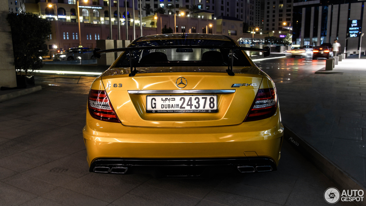 Mercedes benz c 63 amg coup black series 11 august 2017 for Mercedes benz 5 series