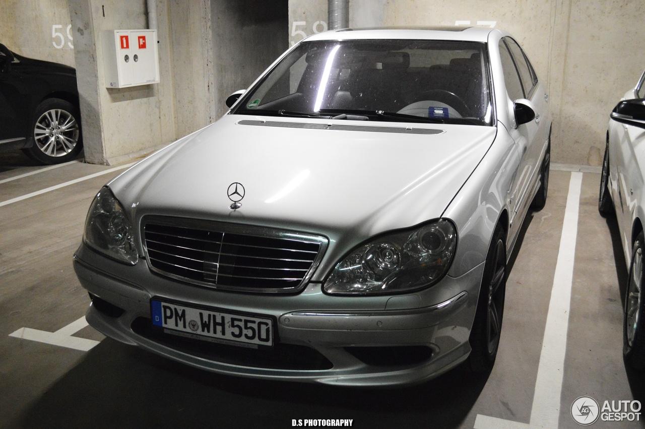 Mercedes benz s 55 amg w220 kompressor 11 august 2017 for Mercedes benz amg kompressor