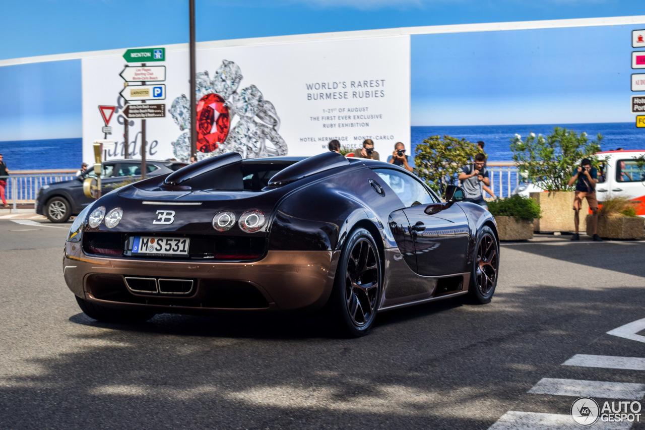 bugatti veyron 16 4 grand sport vitesse rembrandt bugatti 12 august 2017 autogespot. Black Bedroom Furniture Sets. Home Design Ideas