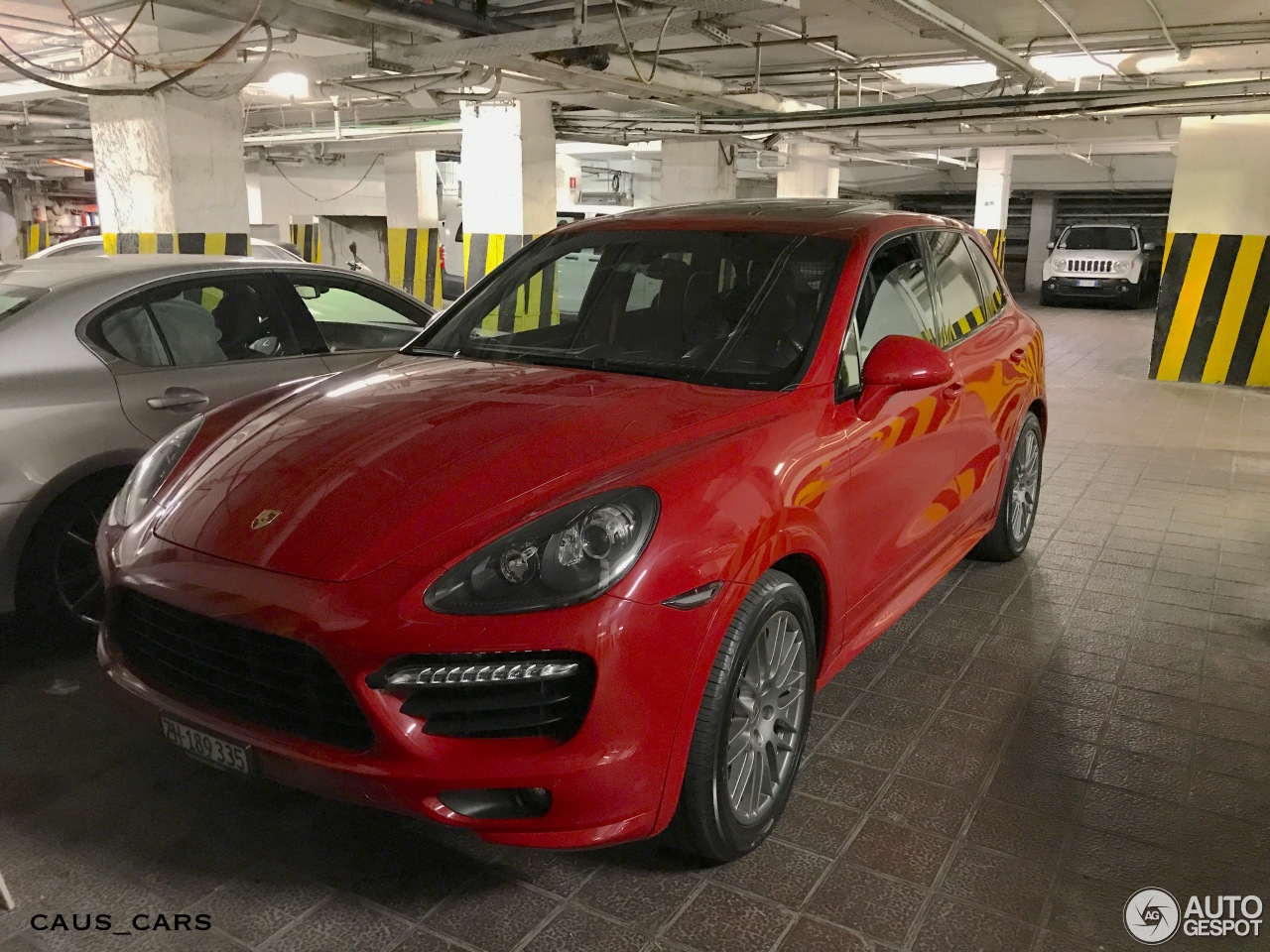 porsche 958 cayenne gts 13 august 2017 autogespot. Black Bedroom Furniture Sets. Home Design Ideas