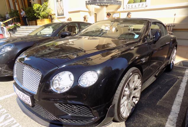 Bentley Continental GTC Mansory 2015