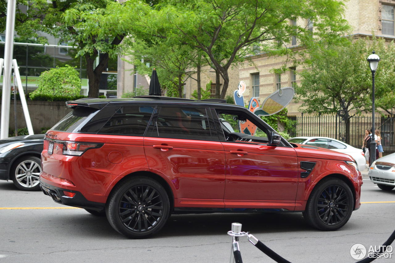 land rover range rover sport svr 14 august 2017 autogespot. Black Bedroom Furniture Sets. Home Design Ideas