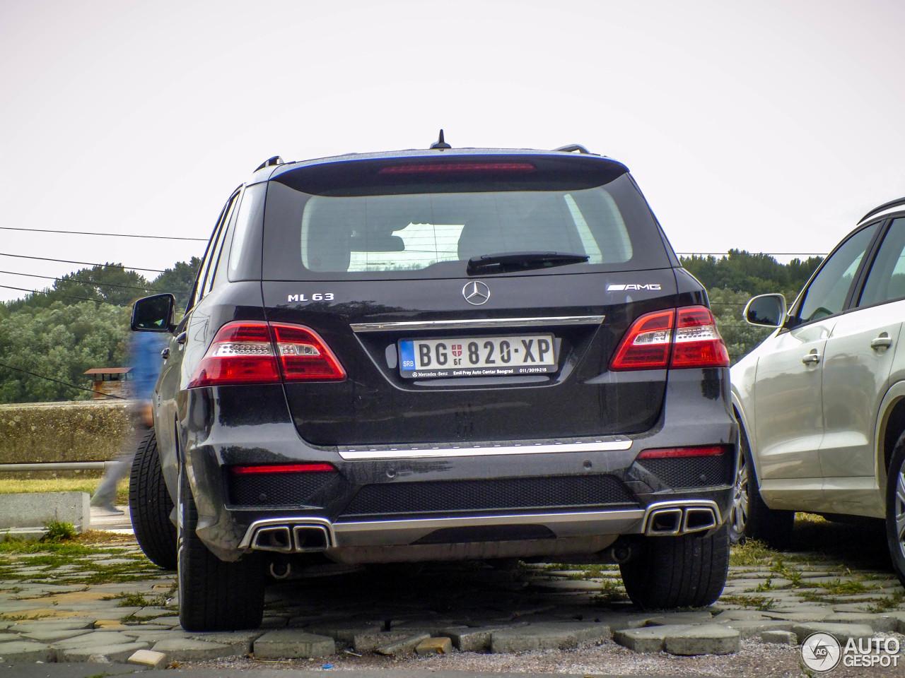 Mercedes benz ml 63 amg w166 14 august 2017 autogespot for Mercedes benz ml 63