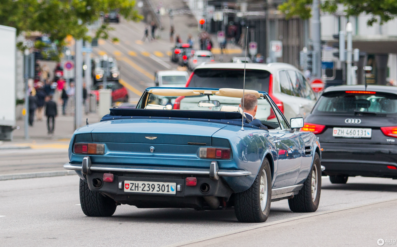 Aston Martin V8 Vantage Volante 1986 1989 15 August 2017 Autogespot