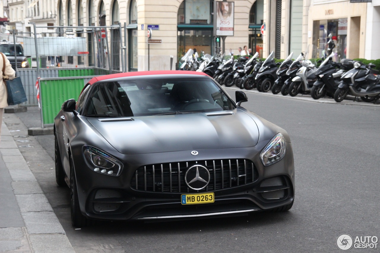 mercedes amg gt c roadster r190 edition 50 16 agosto. Black Bedroom Furniture Sets. Home Design Ideas