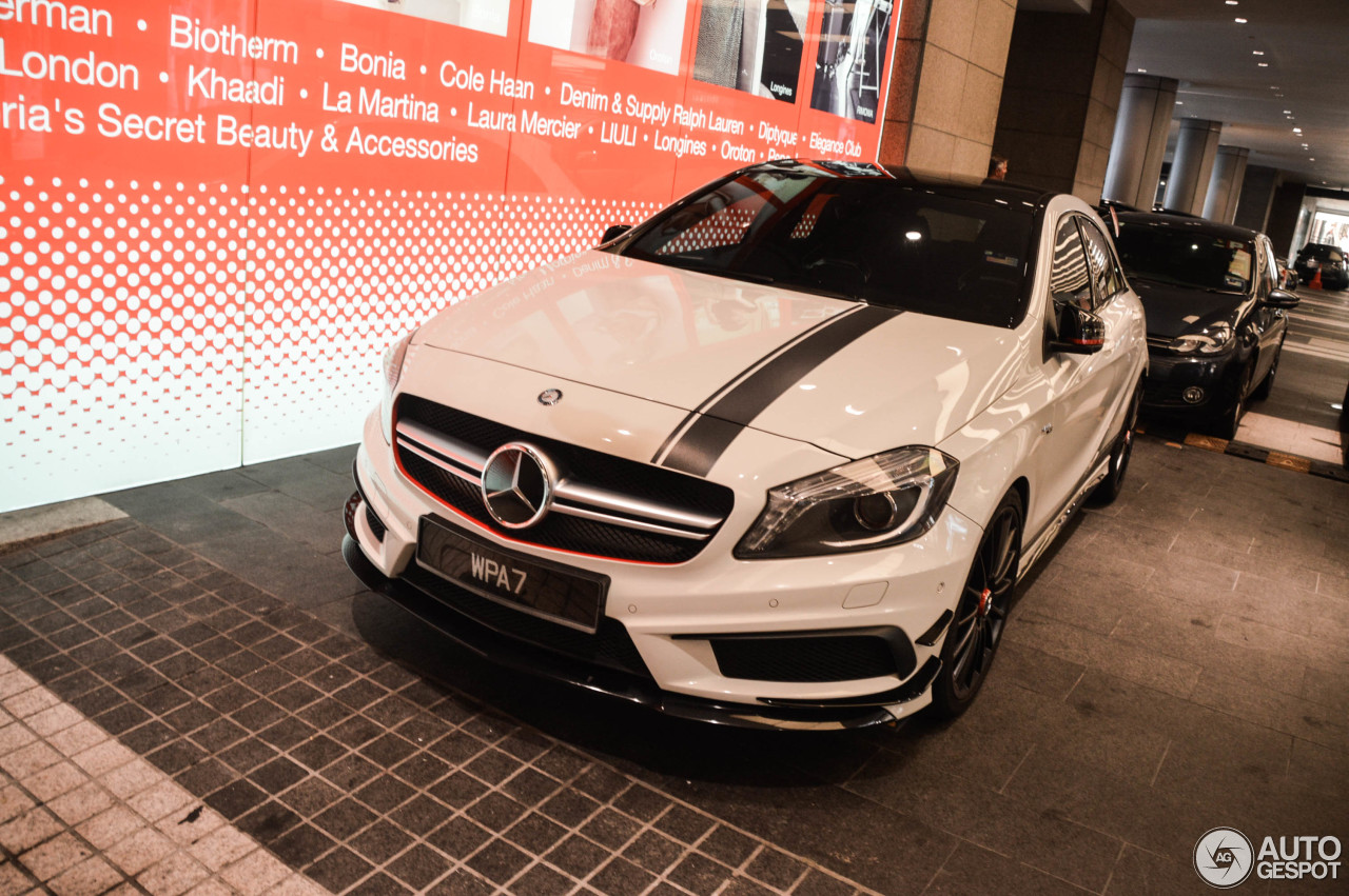 mercedes benz a 45 amg edition 1 16 august 2017 autogespot. Black Bedroom Furniture Sets. Home Design Ideas