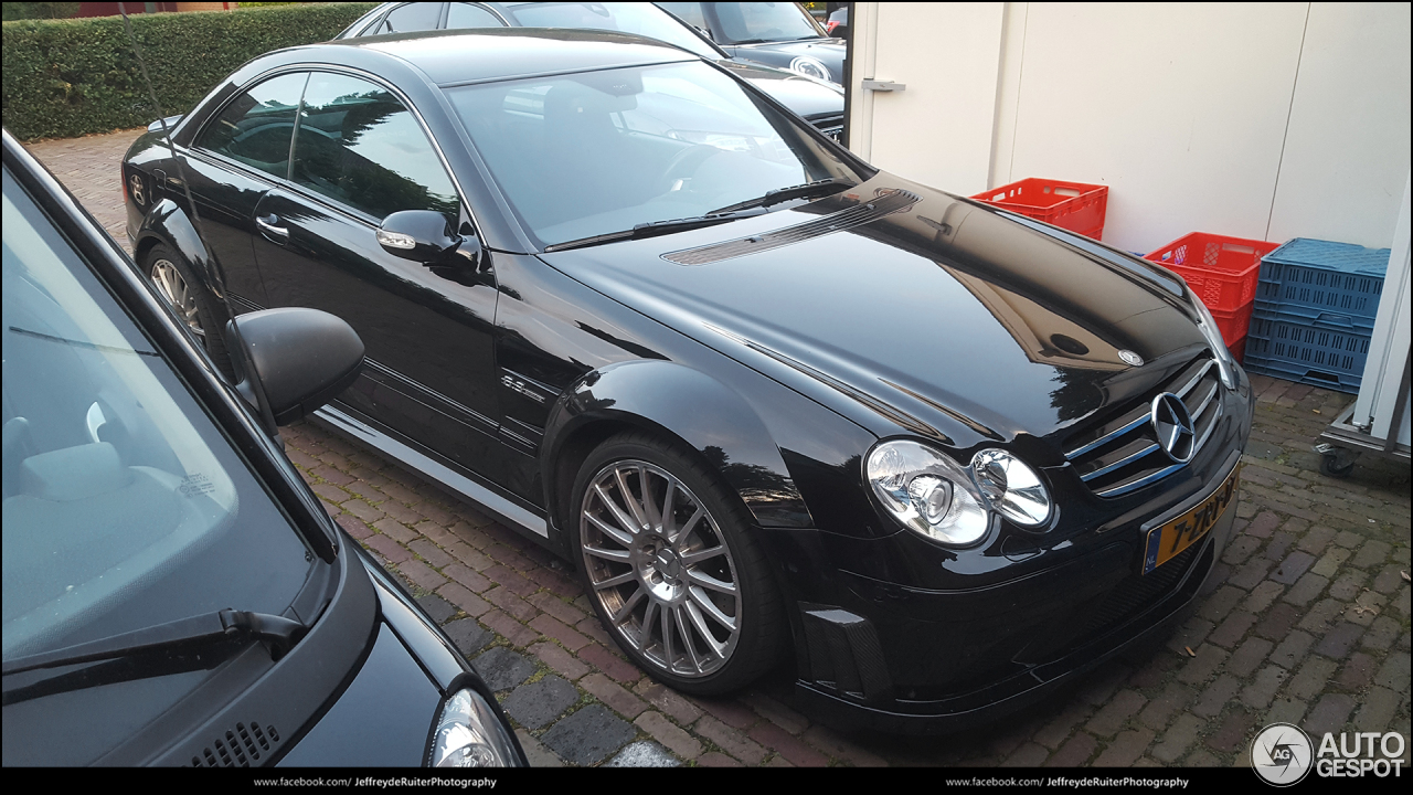 Mercedes benz clk 63 amg black series 16 august 2017 for Mercedes benz clk black series