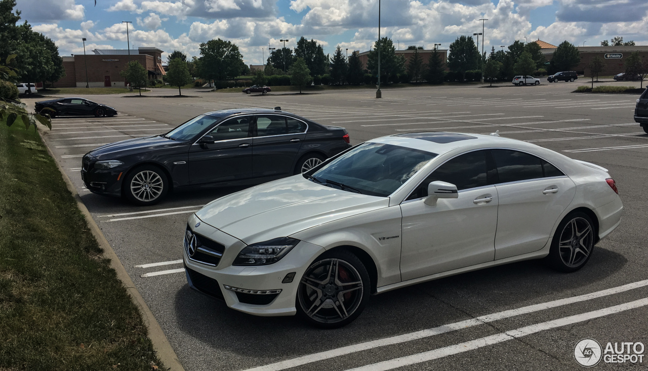 Mercedes benz cls 63 amg c218 17 august 2017 autogespot for 2017 amg cls 63 mercedes benz