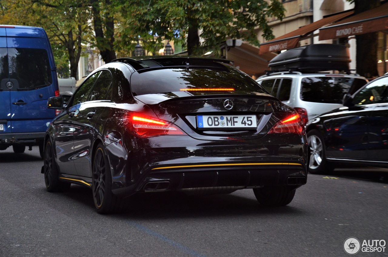 Mercedes Amg Cla 45 C117 Yellow Night Edition 20 August