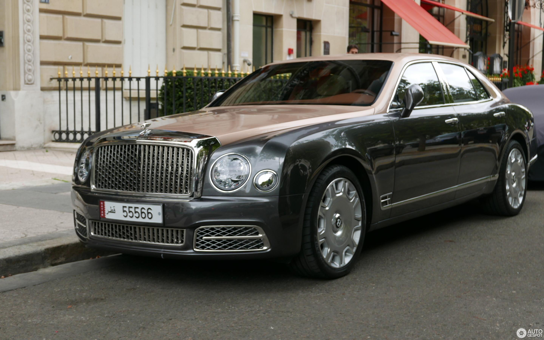 Bentley Mulsanne 2016 21 August 2017 Autogespot