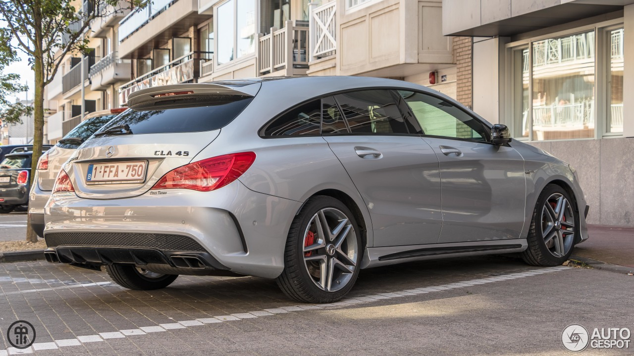 mercedes amg cla 45 shooting brake x117 22 august 2017 autogespot. Black Bedroom Furniture Sets. Home Design Ideas