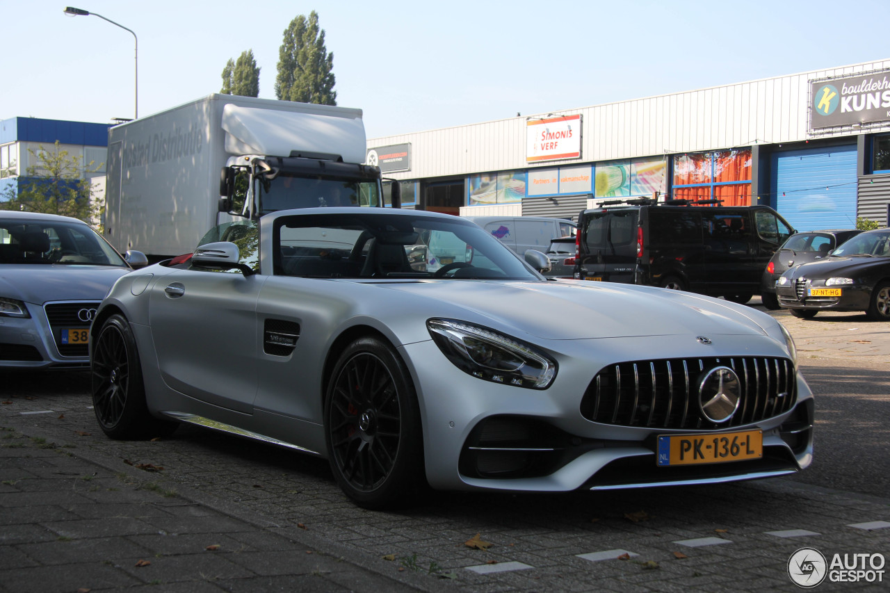 mercedes amg gt c roadster r190 23 august 2017 autogespot. Black Bedroom Furniture Sets. Home Design Ideas