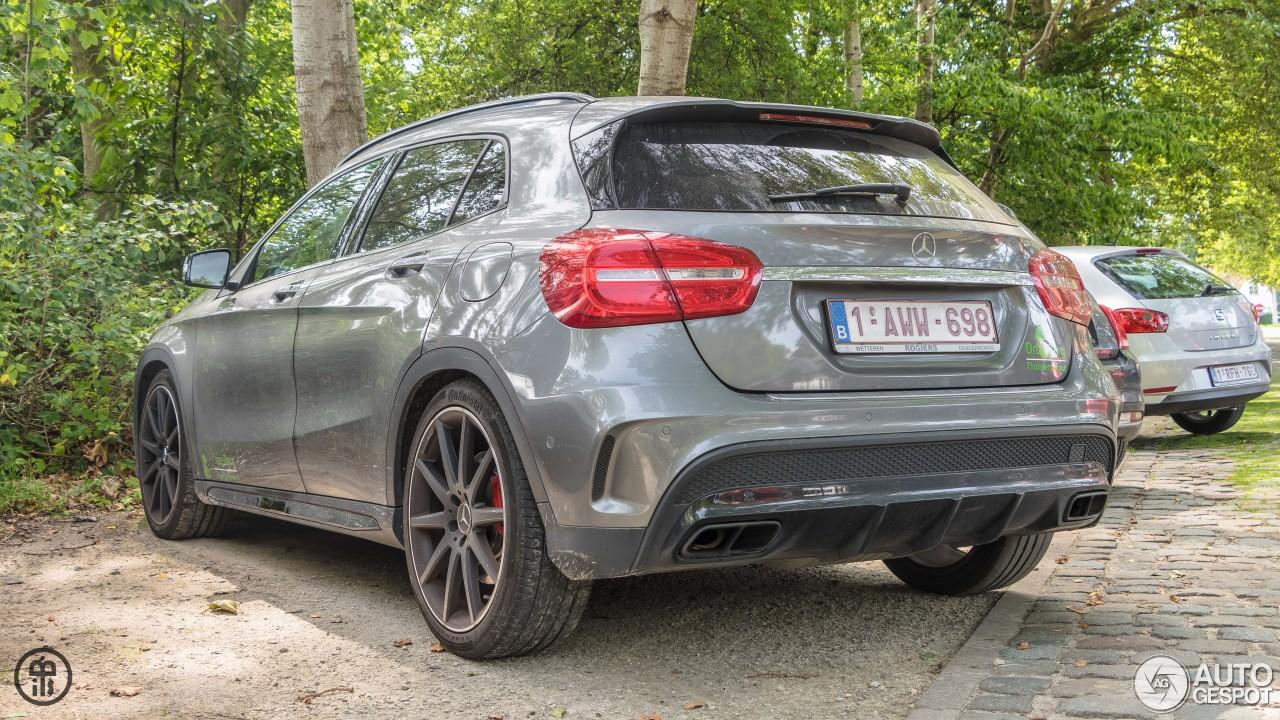 Mercedes benz gla 45 amg x156 23 august 2017 autogespot for 2017 amg gla 45 mercedes benz