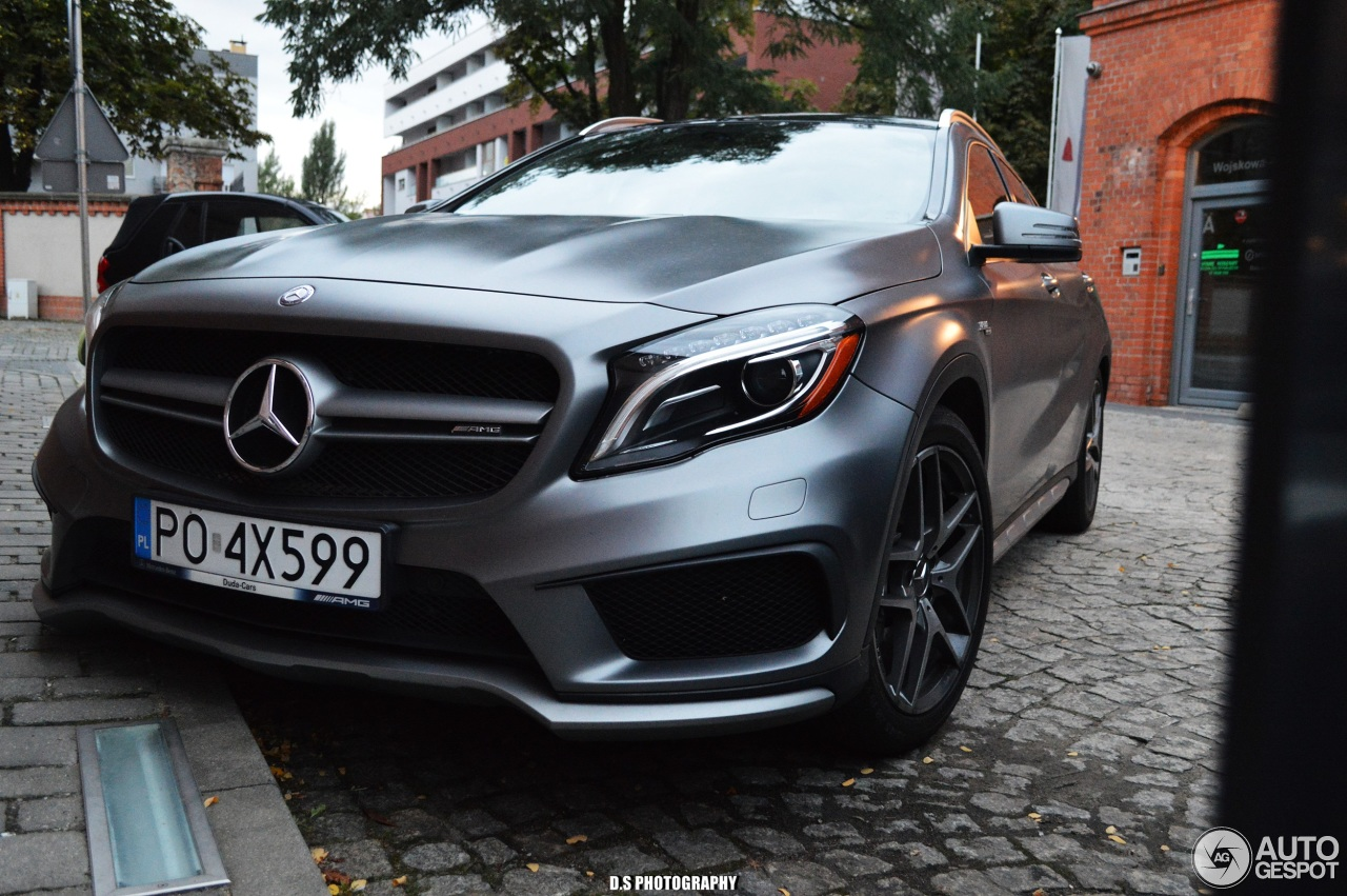 Mercedes benz gla 45 amg x156 24 august 2017 autogespot for 2017 mercedes benz amg gla 45