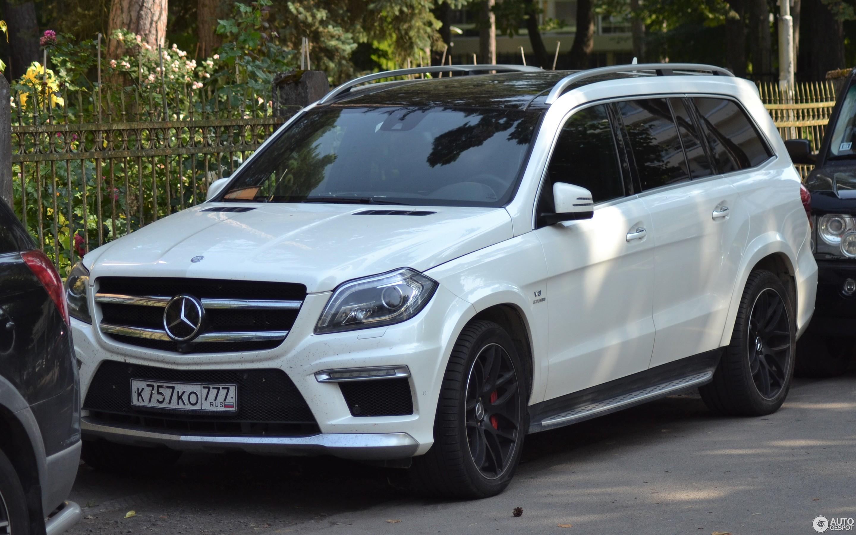 Mercedes Benz Gl 63 Amg X166