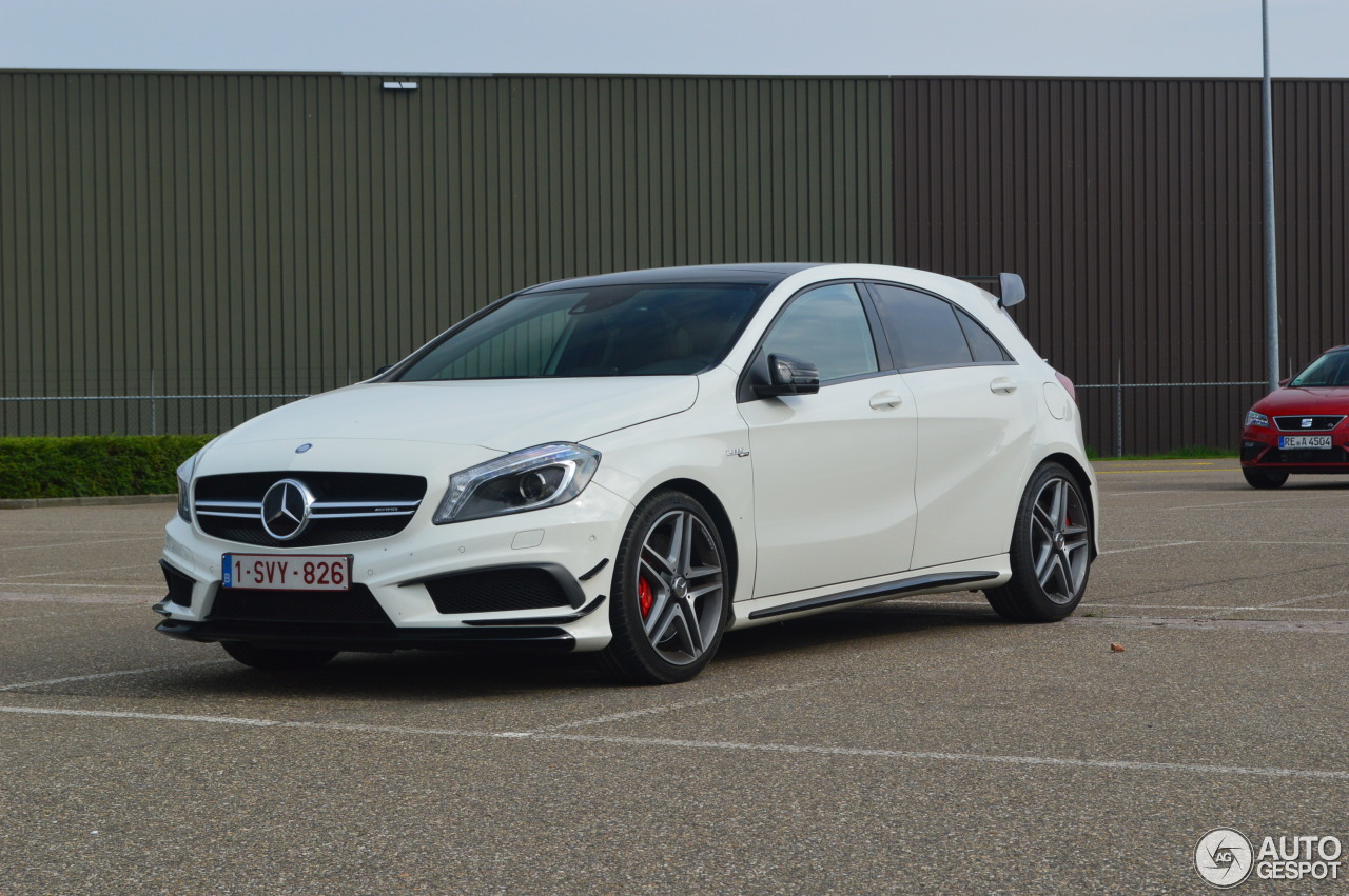 mercedes benz a 45 amg edition 1 26 august 2017 autogespot. Black Bedroom Furniture Sets. Home Design Ideas