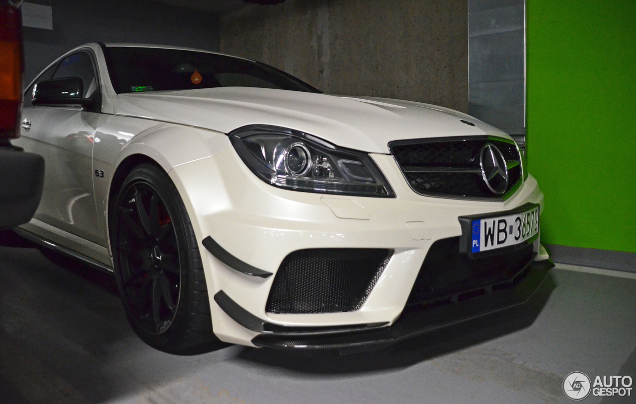 Mercedes benz c 63 amg coup black series 26 august 2017 for 5 series mercedes benz