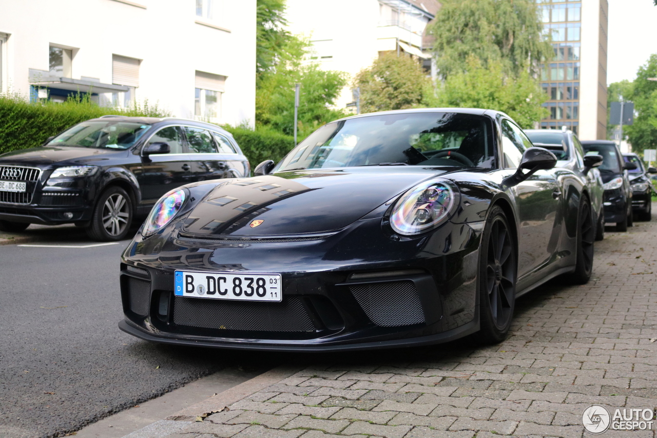 porsche 991 gt3 mkii 26 august 2017 autogespot. Black Bedroom Furniture Sets. Home Design Ideas