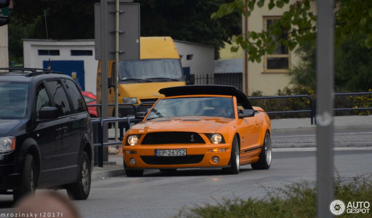 Ford Mustang Shelby Gt Convertible 27 August 2017 Autogespot