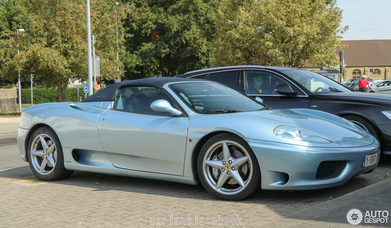 ferrari 360 spider 28 august 2017 autogespot. Black Bedroom Furniture Sets. Home Design Ideas