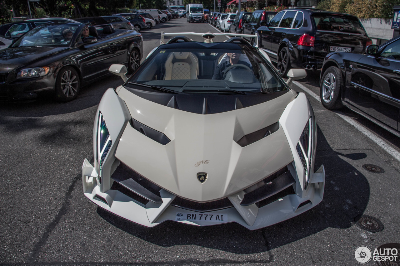 Lamborghini Veneno Roadster - 28 August 2017 - Autogespot