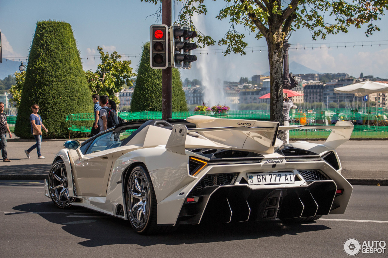 Lamborghini Veneno Roadster - 28 August 2017 - Autogespot