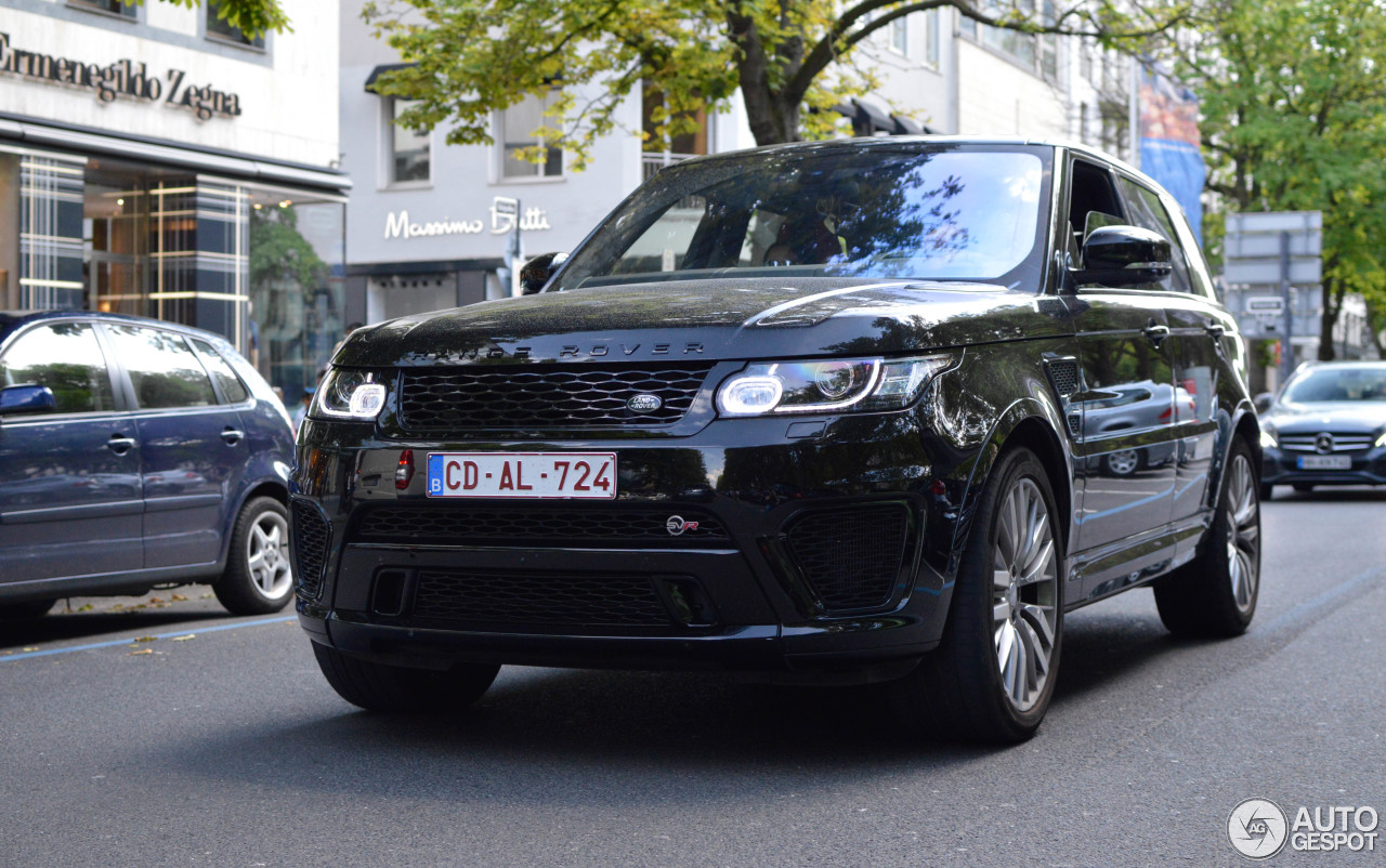land rover range rover sport svr 28 august 2017 autogespot. Black Bedroom Furniture Sets. Home Design Ideas