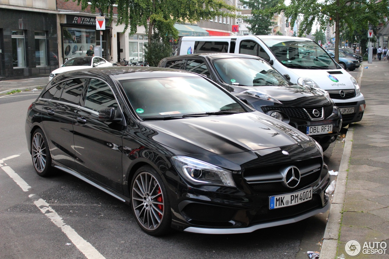 mercedes benz cla 45 amg shooting brake 28 august 2017 autogespot. Black Bedroom Furniture Sets. Home Design Ideas
