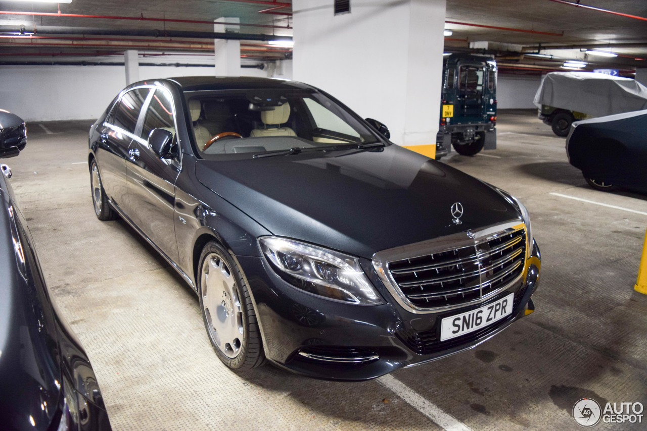 Mercedes maybach s600 28 august 2017 autogespot for 2017 mercedes benz s600 maybach