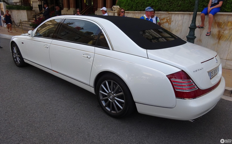 Maybach 62 S Landaulet 2011